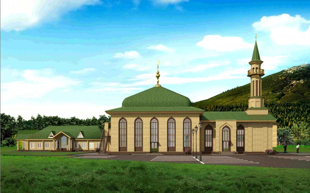 Прокт мечети Владивостока