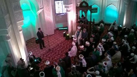 Шаймиев выступил в мечети перед имамами