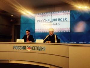 Аббясов на пресс-конференции