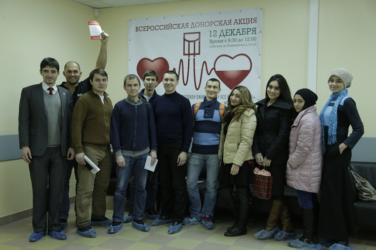Российские мусульмане повсеместно сдают кровь