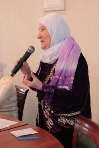Глава движения «Российское исламское наследие» Альмира Адиатуллина