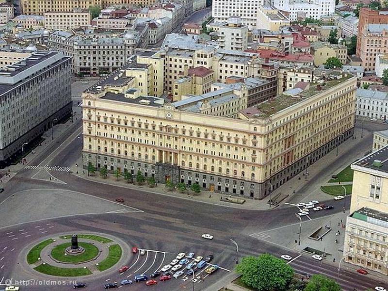 Легендарное здание на Лубянской площади