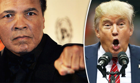 Мухаммед Али отправил в нокаут Дональда Трампа