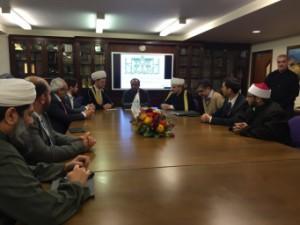Российские муфтии в Исламском культурном центре Лондона