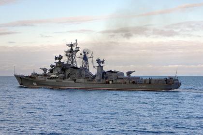 Российский корабль выстрелил по турецкому сейнеру