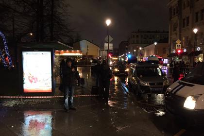 От взрыва в центре Москвы пострадали люди