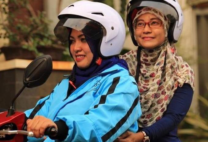 Хиджаб на мотоцикле разбивает стереотипы