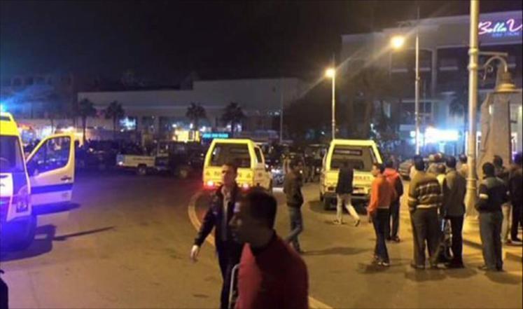 Совершено нападение на курорт Египта — имеются пострадавшие