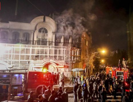Несколько арабских стран разорвали отношения с Ираном