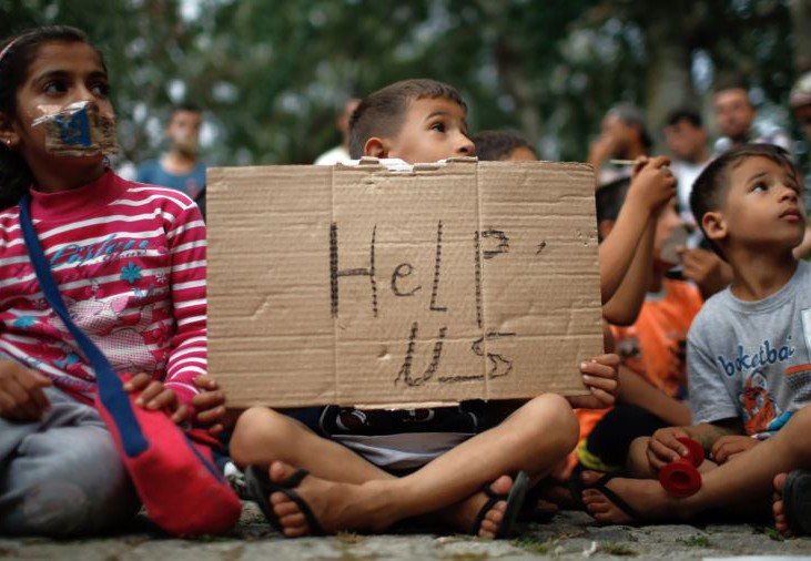 В Европе без вести пропали 10 тысяч детей беженцев