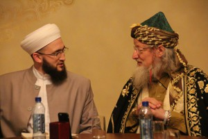 Глава ЦДУМ Талгат Таджуддин также стал гостем мероприятия в Галеевской мечети