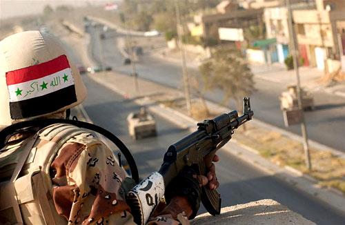 Иракский военнослужащий