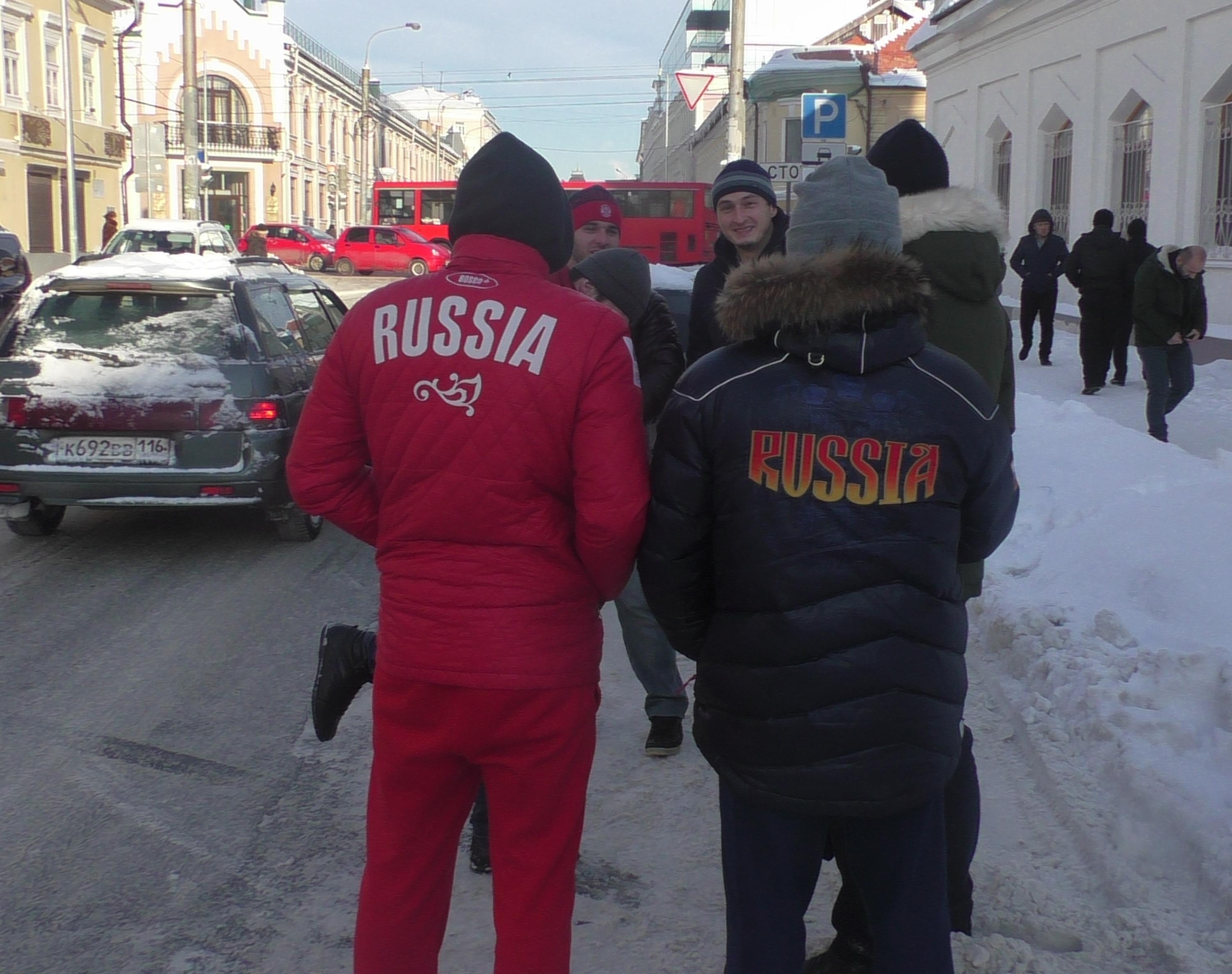 Гости Казани с Кавказа
