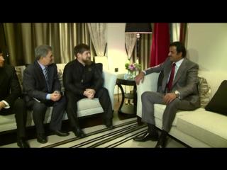 О чем договорился Кадыров с эмиром Катара?