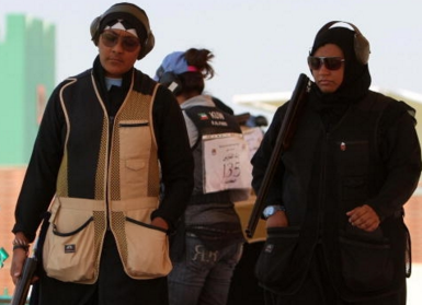 Мусульманка: «Отец разрешил мне стрелять»