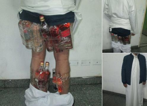 Сняв штаны с саудийца, таможенники испытали шок