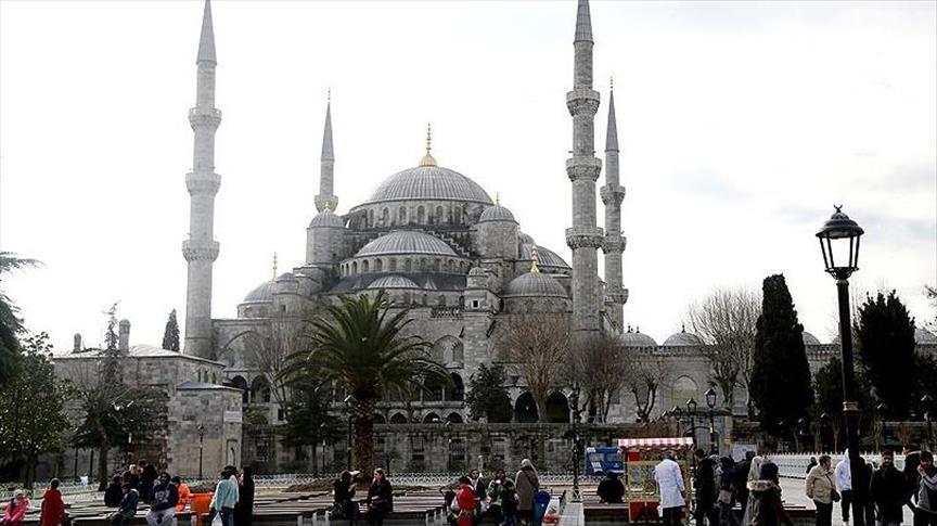 Президент Турции совершил пятничный намаз у места теракта