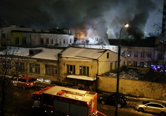 В Москве заживо сгорели 12 мигрантов, в том числе младенец