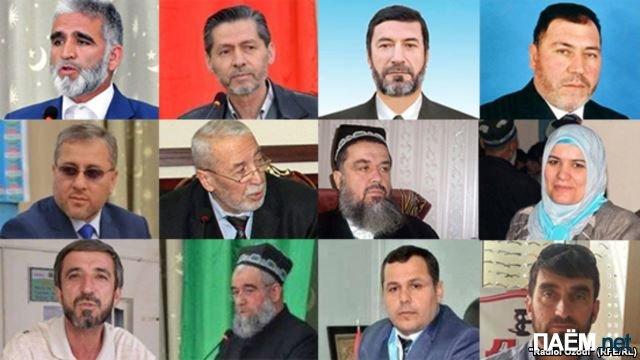 Арестованные оппозиционеры Таджикистана