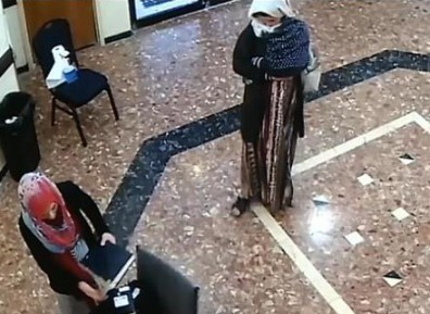 Мусульманки повергли в ужас иудеев в синагоге (ВИДЕО)