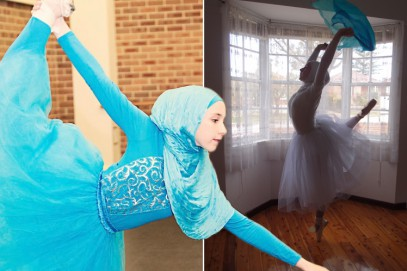 Юная мусульманка: Хиджаб балету не помеха