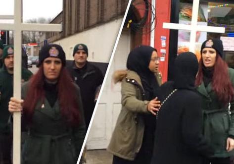 Христианский патруль публично кощунничает над исламом