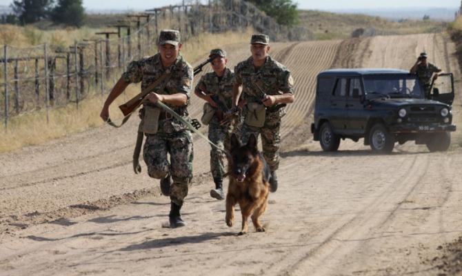 Казахстанские пограничники