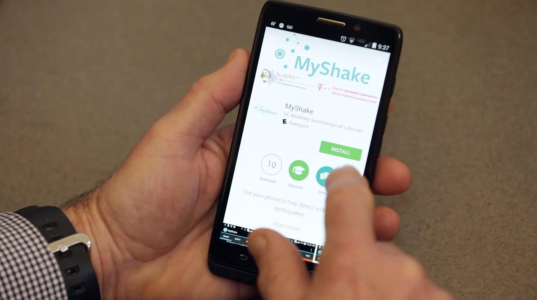 Приложение позволит дать смартфону функцию мобильного сейсмометра