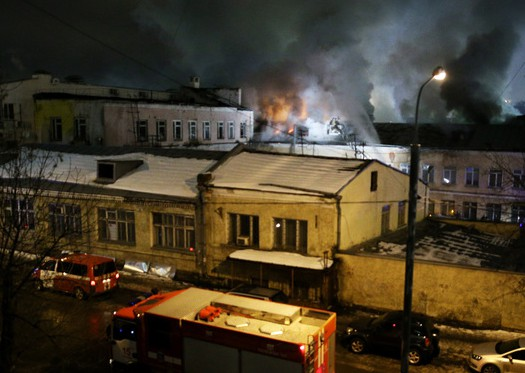 Стала известна национальность сгоревших в Москве мигрантов