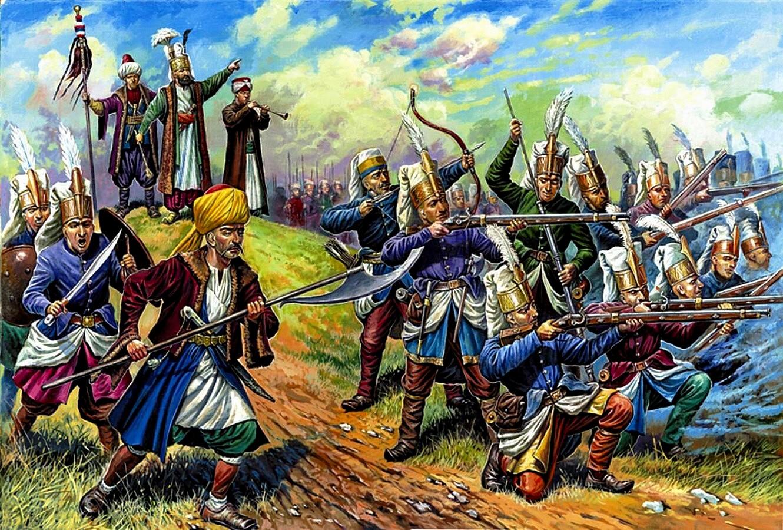 Янычары — гроза европейских полководцев