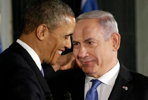 Президент США и премьер-министр Израиля