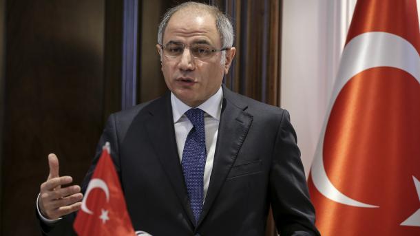 Глава МВД Турции Эфкана Ала