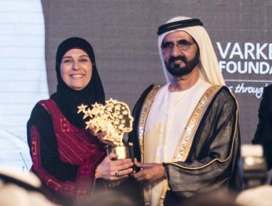Палестинка признана лучшим учителем в мире