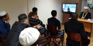 Муфтий Гаязов проводит лекцию о течениях в исламе