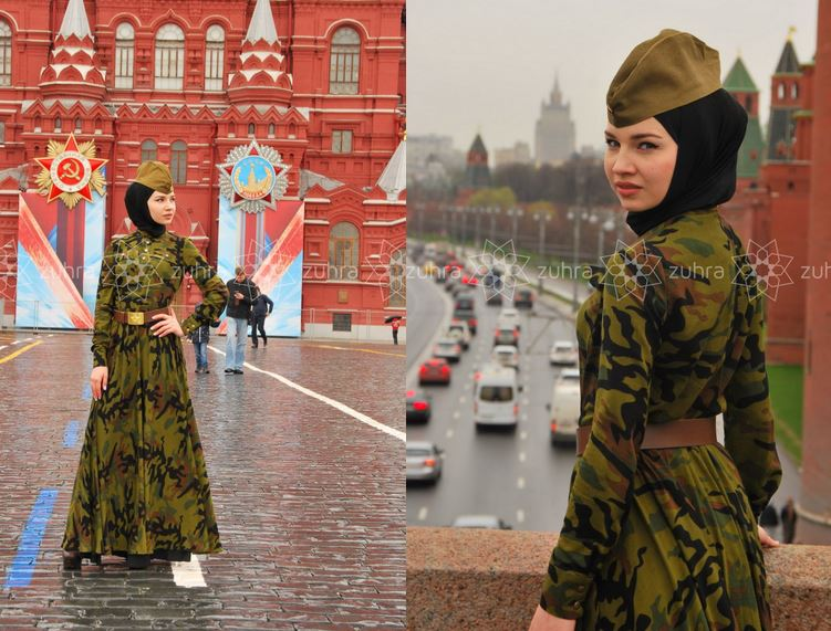 Мусульманкам предложен хиджаб «Дня Победы»