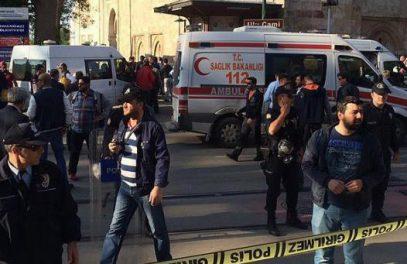 В Турции террористка атаковала мечеть