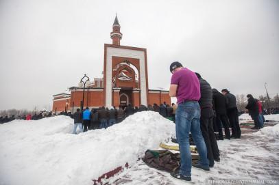 Имам призвал мусульман обратиться к Путину