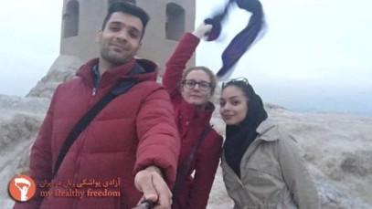 В Иране туристки устраивают хиджабную провокацию