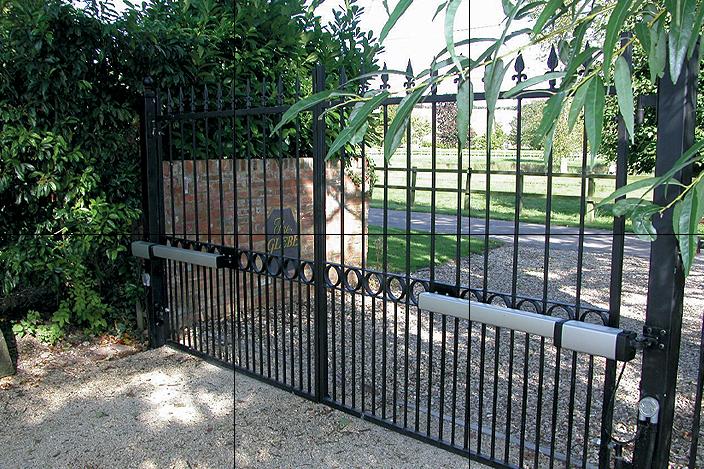 Главные преимущества автоматических ворот