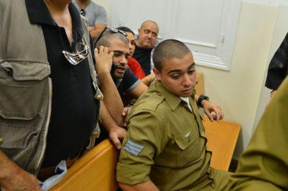 В Израиле требуют освободить силовика, добившего умирающего палестинца (ВИДЕО)