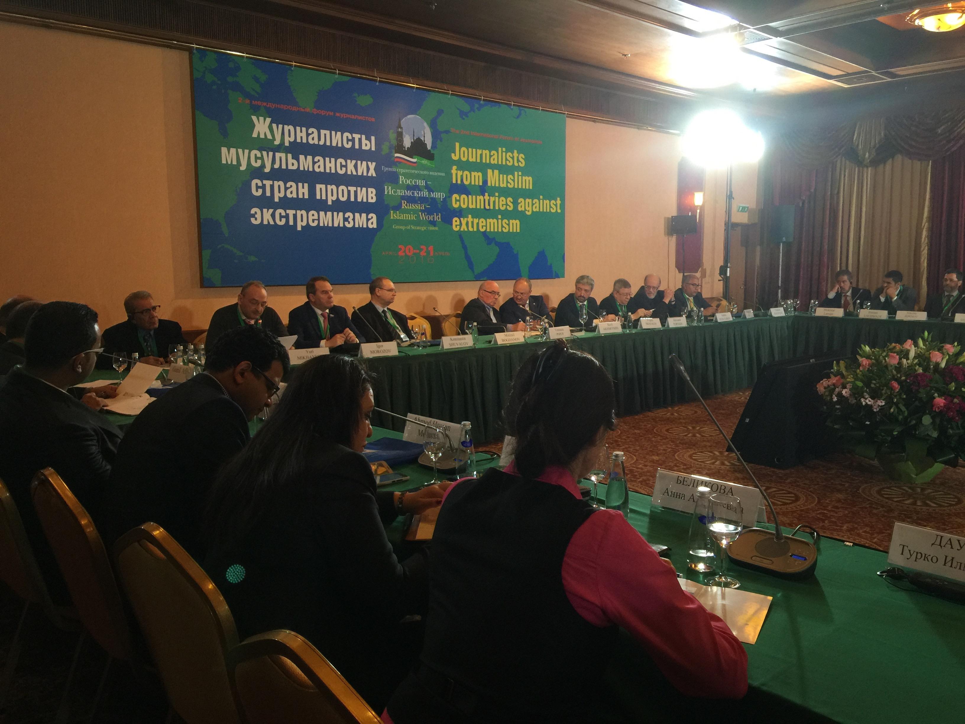 Москва мобилизовала мусульманских журналистов (ВИДЕО)