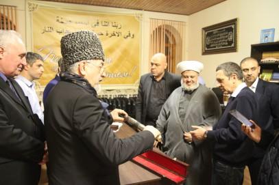 На Кавказе шейхов вооружали против террористов (ВИДЕО)