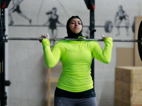 Штангистка в хиджабе рвется к победе