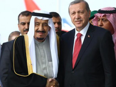 Эрдоган удивил выбором музыки для встречи короля Саудии (ВИДЕО)