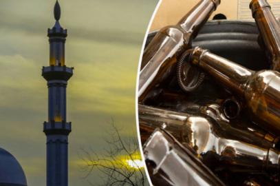 Молящихся в мечети атаковали алкоголем