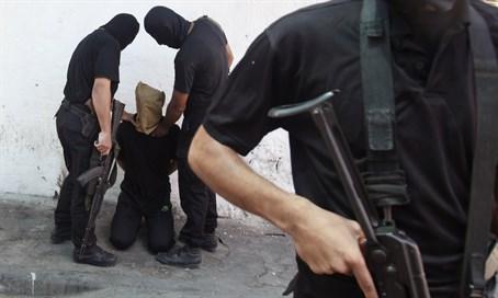В Газе произраильские шпионы сильно пожалели