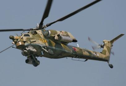 В Сирии разбился российский военный вертолет, есть жертвы