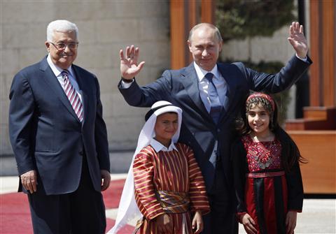 Путину предложат сыграть роль в судьбе Палестины