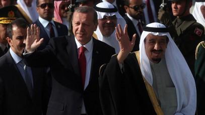 Король Саудовской Аравии прибыл с помпезным визитом в Турцию