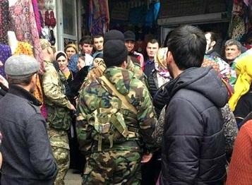 Дагестанские торговцы вышли на митинг из-за Турции